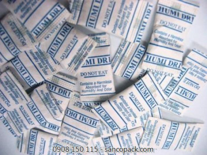 Túi chống ẩm, gói hút ẩm, dây hút ẩm, hút Ôxy các loại từ 40% đến 400%