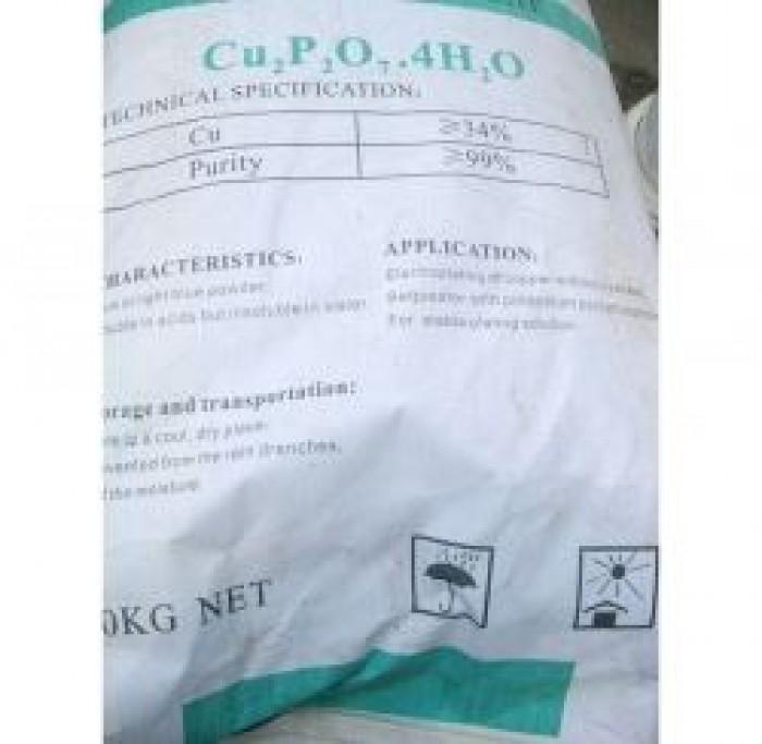 Bán - mua: Copper Pyrophosphate,Chất mạ đồng...hàng mới, giá rẻ
