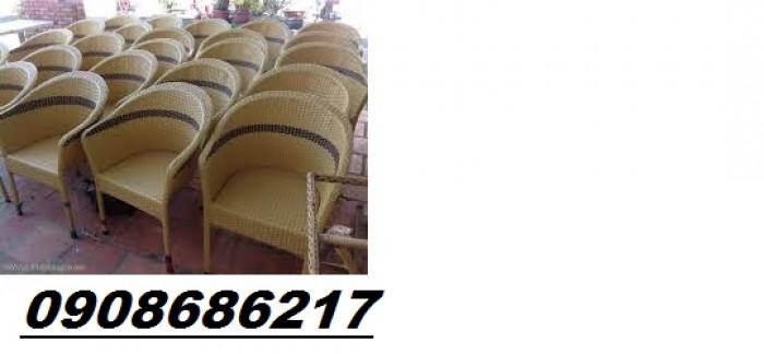 Bàn ghế nhựa giả mây cao cấp giá cực rẻ3