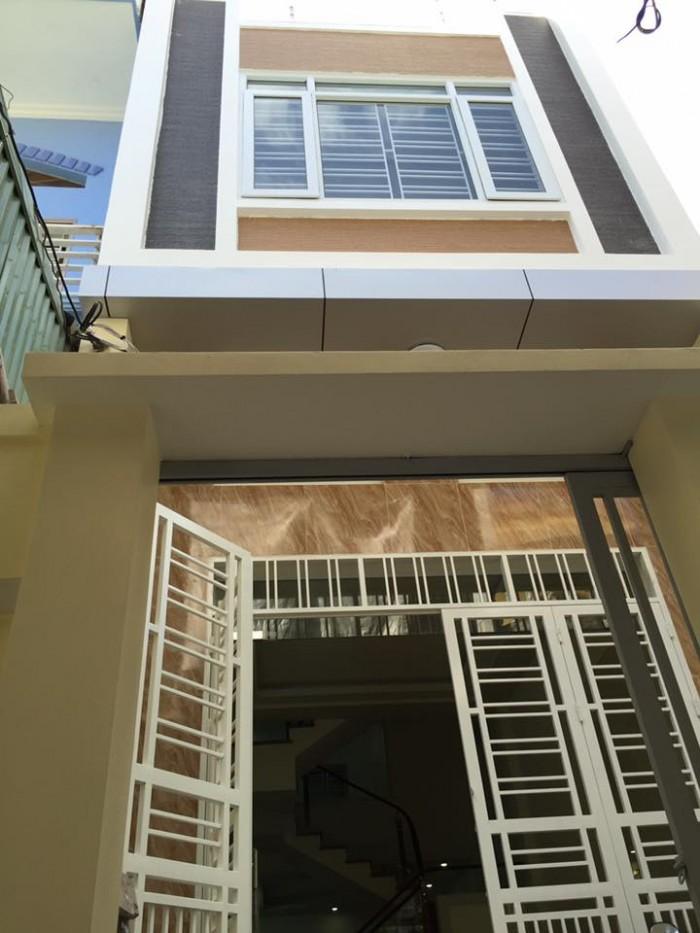 Cần bán nhà 3 tầng x 54m2, xây độc lập, sân cổng riêng, đường Trần Nguyên Hãn.Chỉ 1,55 tỷ
