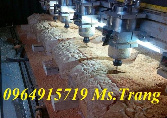 Máy đục gỗ cnc 6 đầu khổ lớn giá rẻ