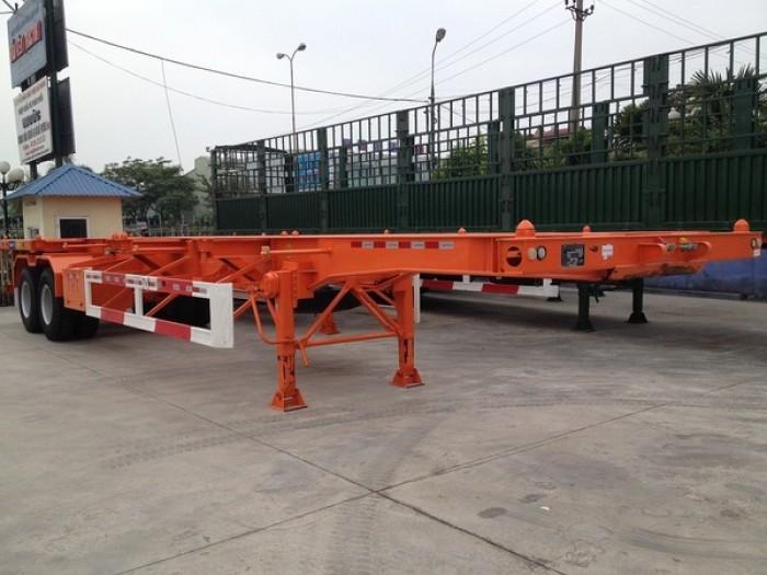 Bán rơ moóc CIMC CỔ CÒ3 trục 30,5 tấn Nhập Khẩu Nguyên Chiếc 2016