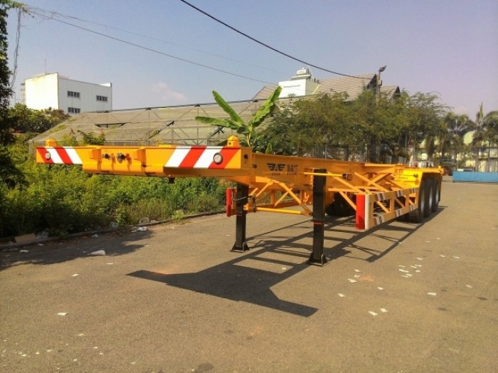 BÁn Sơ mi Rơ mooc CIMC CỔ CÒ 40 feet - tải trọng cao