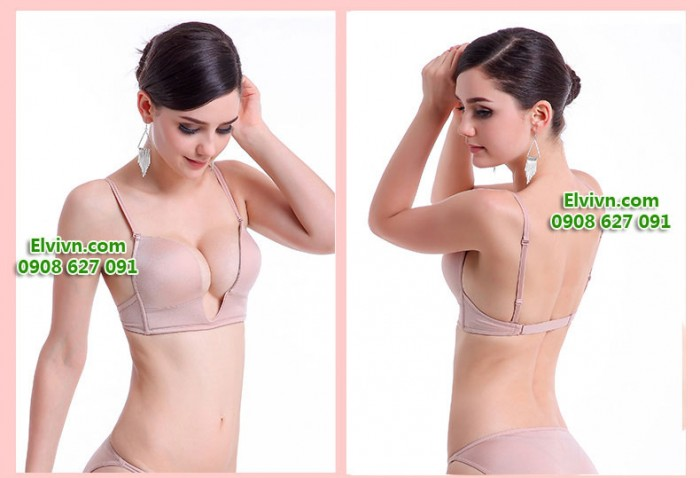 Áo ngực mặc đầm xẻ ngực sâu