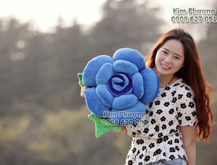 Qùa tặng gối ôm hình hoa hồng4