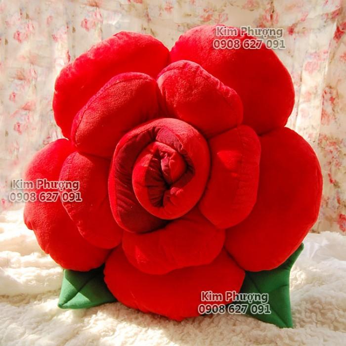 Qùa tặng gối ôm hình hoa hồng7