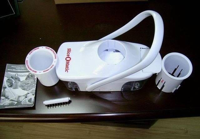 Máy cắt ray củ thông minh