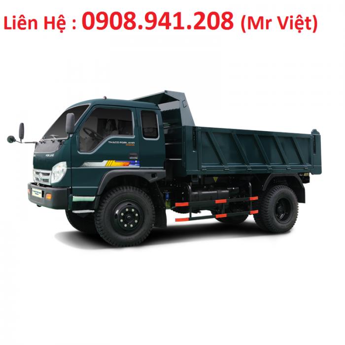 - Xe ben FORLAND FLD345C ( Tải trọng 3 tấn45 _ Thùng 2,8 khối)  Giá :282.000.000 vnđ