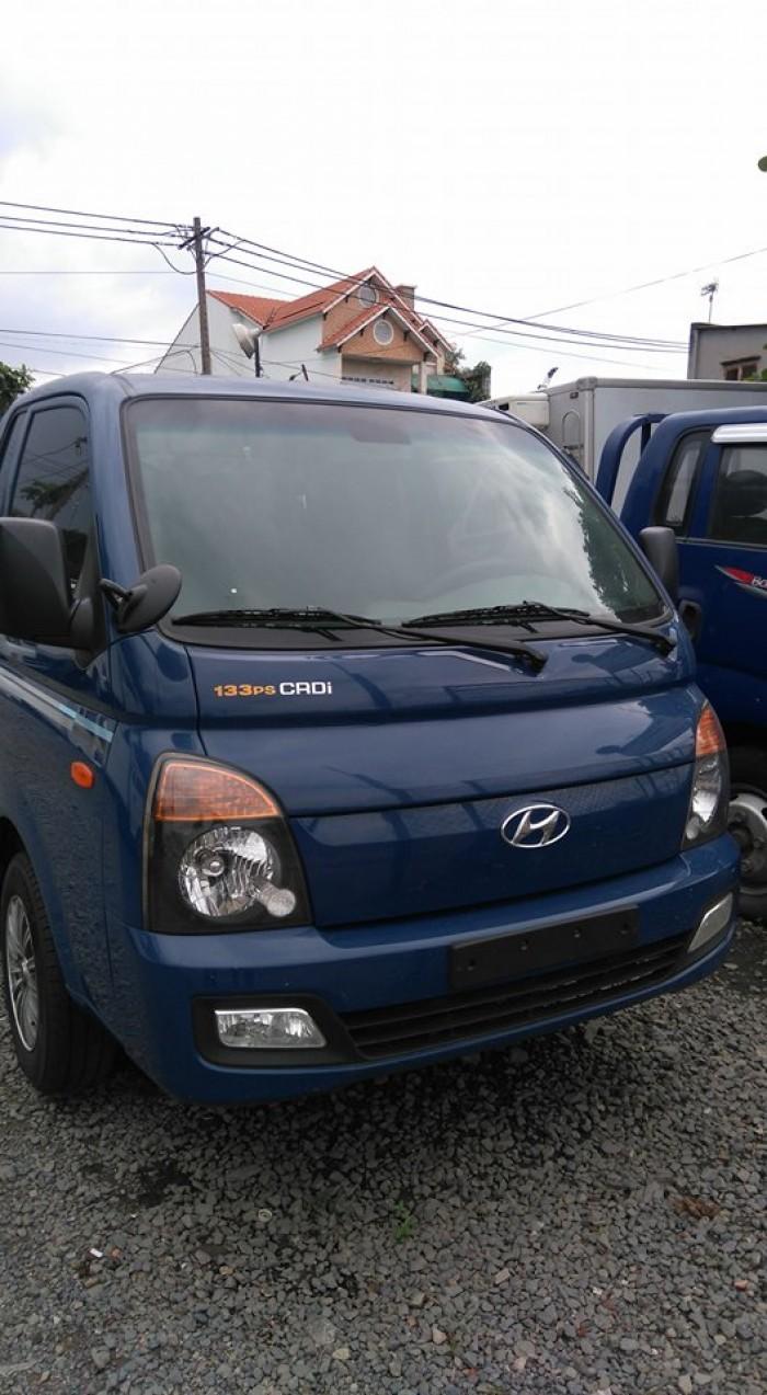 Xe hyundai porter II nhập khẩu thùng lửng