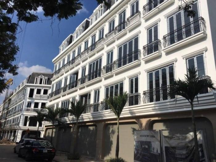 Bán nhà shophouse 5 tầng mặt phố Thiên Hiền, gần The Manor, tiện kinh doanh hoặc cho thuê giá cao