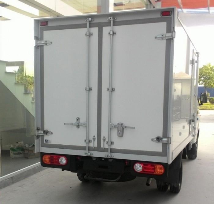 Xe hyundai Porter II nhập khẩu nguyên chiếc đông lạnh thùng 1 tấn
