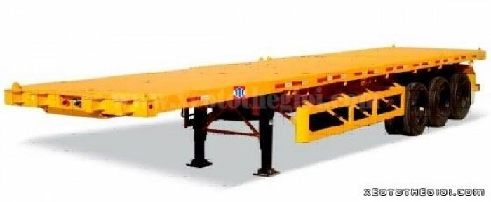 Chuyên cung cấp sơ mi rơ mooc sàn chính hãng CIMC 40 feet nhập khẩu 2016