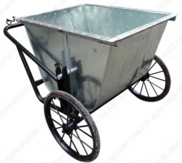 Xe gom rác 120, xe gom rác 660l, xe gom rac 400l nhựa HDPE, nhựa Composite giá rẻ