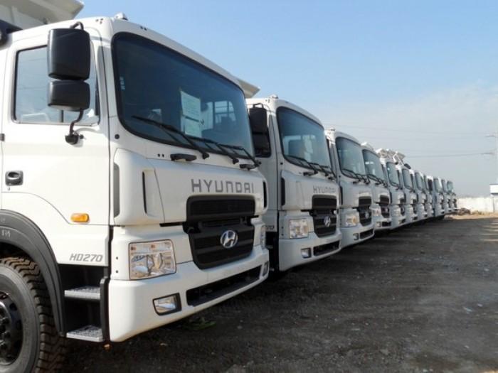 Bán xe tải Hyundai HD270 Mixer 7 khối trộn bê tông thể tích bồn trộn 7m3