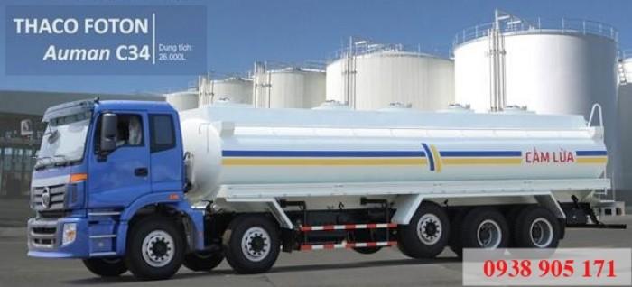 Bán xe Hyundai xitec xăng dầu nước 11 khối, 14 khối, 18 khối, 24 khối nền Hyundai, Thaco Auman