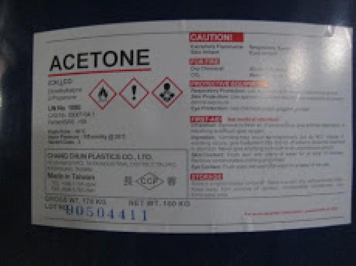 Giá bán và mua: Acetone, C3H6O2, dung môi tẩy rửa, nước rửa móng tay... rẻ