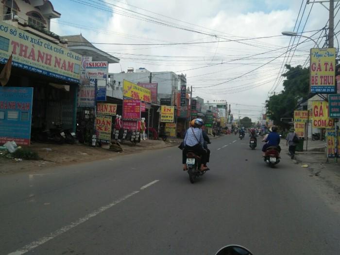 Đất MT đường nhánh Lê Văn Khương - HT, DT: 74m2, tiện KDBB,SHR