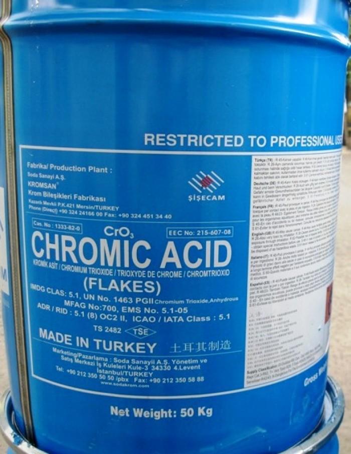 Mua và bán: CHROMIC ACID, sử dụng trong ngành công nghiệp mạ Chrom
