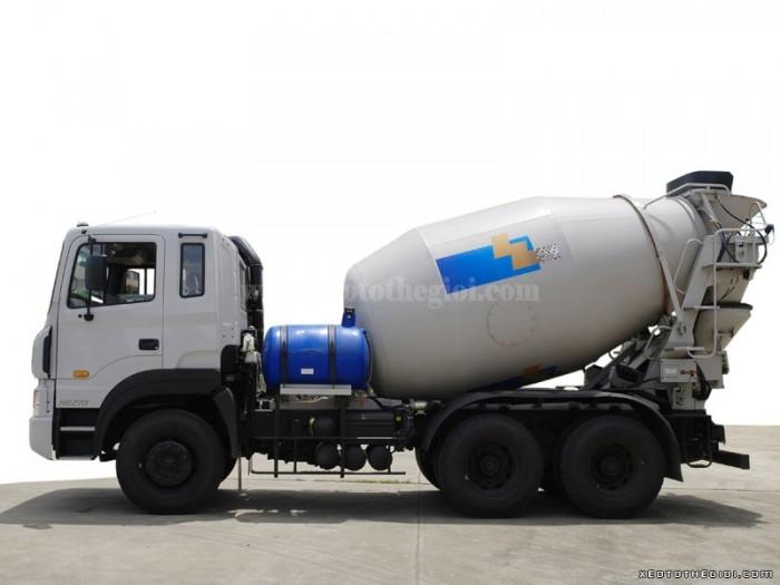 Tổng Đại lý Hyundai bán Hyundai Mixer HD270 thùng trộn bê tông 7 m3