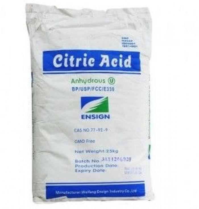 Giá bán: Acid Citric Khan, Acid Citric Anhydrous, C6H8O7, Bột Chua, giá hời