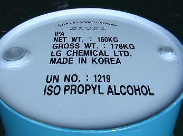 Bán:  Isopropyl Alcohol, IPA, dung môi trong dệt nhuộm, chất làm khô nhanh...giá tốt