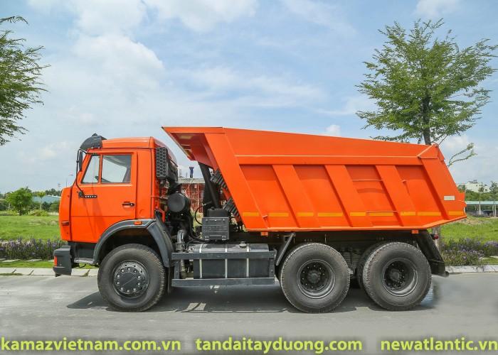 Bán xe ben 15 tấn Kamaz, Kamaz 65115 (6x4) mới nhập khẩu 2016