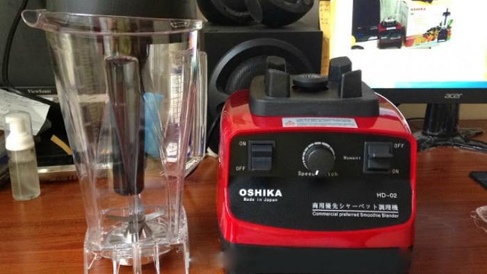 Oshika HD-02,Oshika HD-03 máy xay sinh tố công nghiệp Nhật Bản