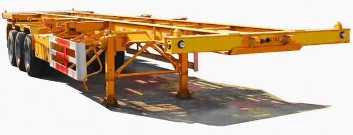Sơmi RơMoóc Thùng bửng- 14m - Tải trọng 30.6 tấn. CIMC nhập khẩu nguyên chiếc.