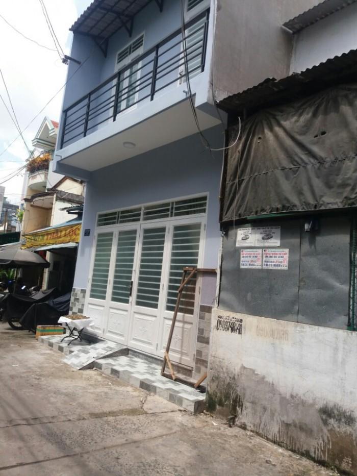 Bán  nhà lạc Long Quân 3x14m 1 TRỆT 1 LỬNG  phường 9 Tân Bình