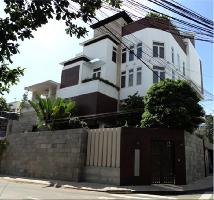 Bán Biệt Thự siêu hiện đại  2 mặt tiền 12,5x21m 5 tầng hẻm 8m khu biệt thự Cư Xá Tự Do, P.7, Q.Tân Bình