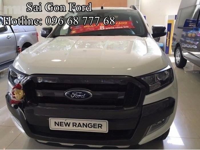 Ford Ranger Wildtrak 2.0L 4x4 AT, Chỉ cần trả trước 176 triệu, giao xe ngay, lãi suất cực thấp