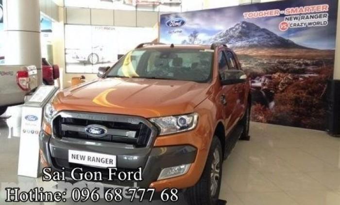 Xe Ford Ranger Wildtrack 2018 mạnh mẽ, xe thương hiệu Mỹ nhập khẩu, nhận tư vấn và báo giá, cập nhật các chương trình khuyến mãi, ưu đãi mua xe từ đại lý chính hãng Sài Gòn Ford khi Liên hệ Trung Hải - 0966877768 (24/24) để nhận tư vấn tận tâm nhất