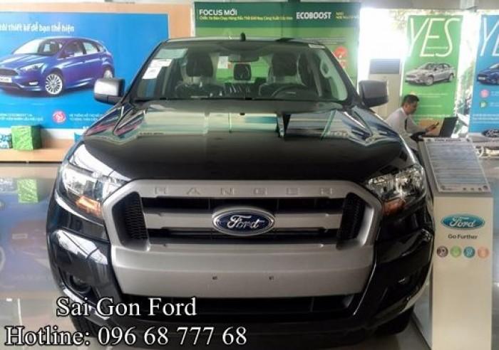 Ford Ranger XLT, số tự động, trả trước 150 triệu, giao xe ngay tại Ford Gia Định