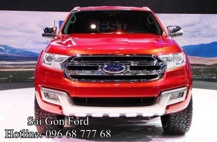 Ford Everest 2019 - Cam kết giá tốt nhất hệ thống Sài Gòn Ford