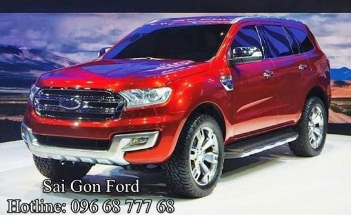Ford Everest Trend 2.2L AT - Cam kết giá tốt nhất hệ thống Sài Gòn Ford