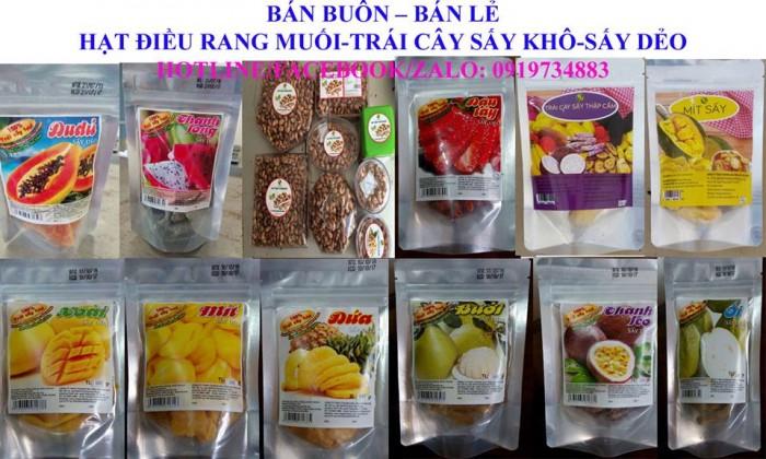 Trái cây sấy dẻo hàng Made in Việt Nam ngon lạ, hương vị ngày Tết0