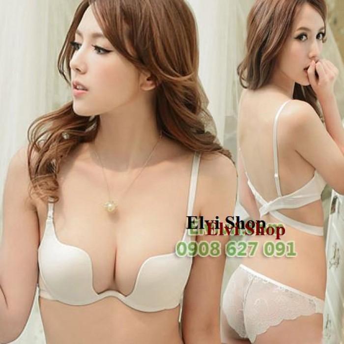 Áo ngực mặc đầm hở lưng, xẻ ngực Multiway , Hàng XK Victoria Secrect.