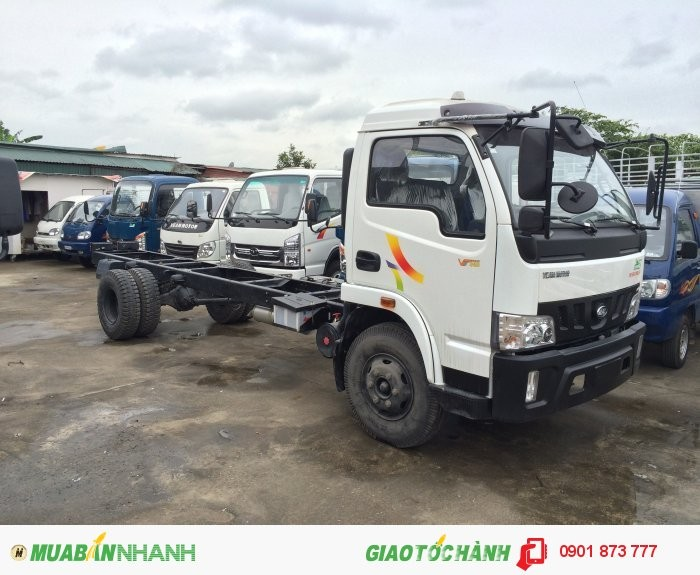 Xe tải veam tải trọng 2 tấn vào thành phố