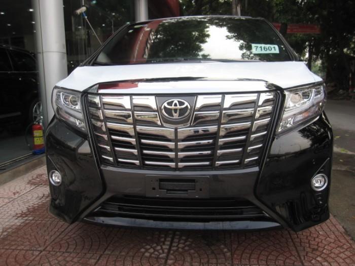 Bán xe Toyota Alphard 2016 màu đen, xe mới