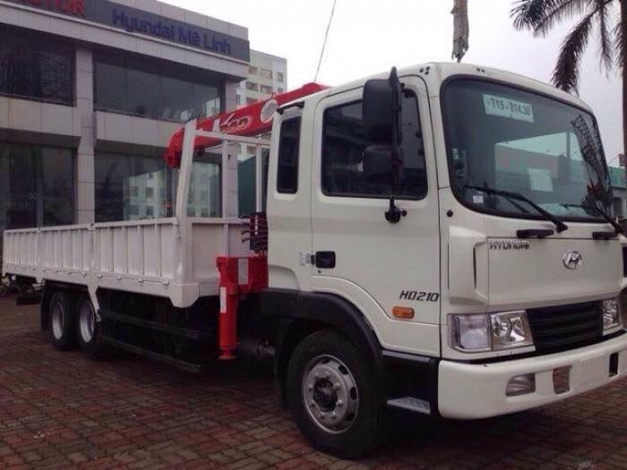 xe tải cẩu hd210