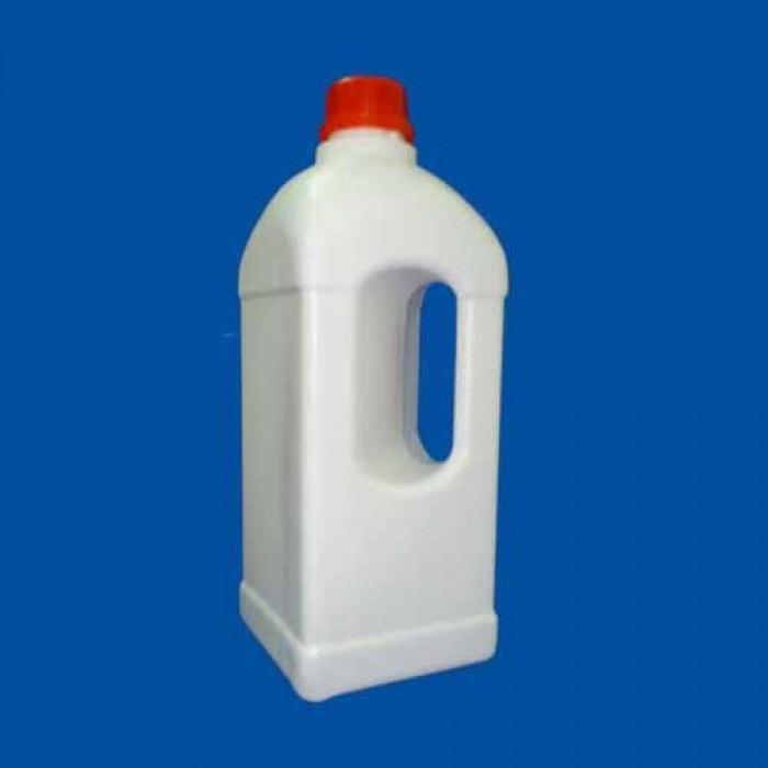 Chai nhựa 1 lít vuông quay3