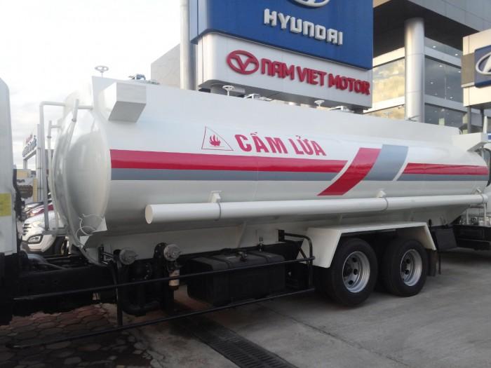 HD310 xitec chở xăng dầu chứa 22.000 lít nhiên liệu, xe mới 2016, chính hãng