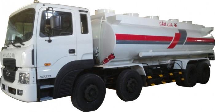 Xe Hyundai  HD310 xitec bồn chở nhiên liệu, xăng dầu 22.000 lít.