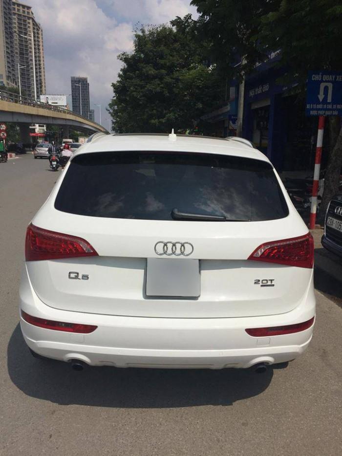 Bán xe Audi Q5 2011 trắng cực đẹp tại Hà Nội 8