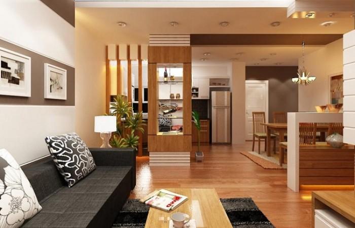 Bố mẹ chồng em cần bán căn 04: 76,76m2, 2PN, 2WC tại chung cư Five Star Kim Giang.