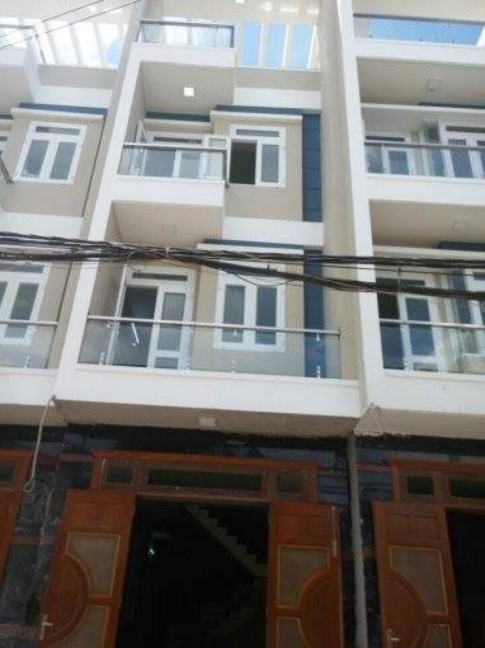 Nhà đúc 3 tấm đường Nguyễn Oanh, P.6, Quận Gò Vấp