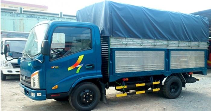 Xe tải veam 2,4t đời 2016 thùng mui bạt