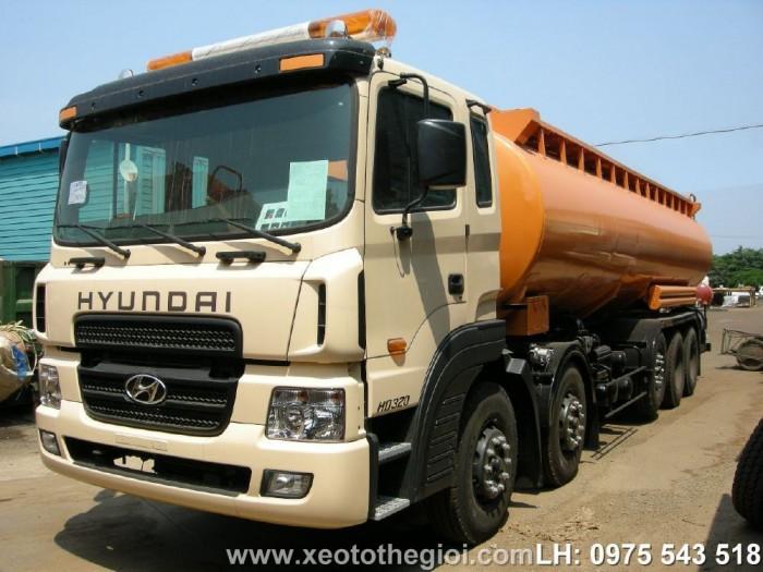 Bán xe Hyundai HD310 Lorry chở xăng dầu 22 khối