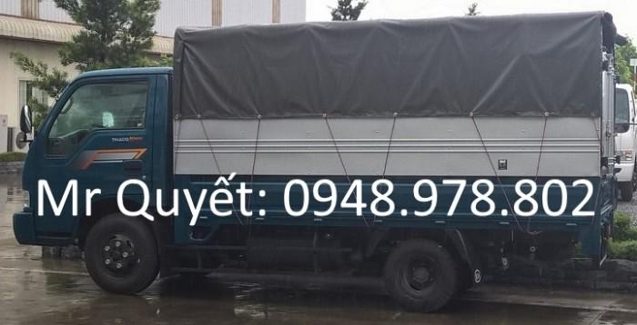 THACO K165 2,4 tấn mui bạt