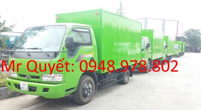 THACO K165 2,3 tấn thùng kin
